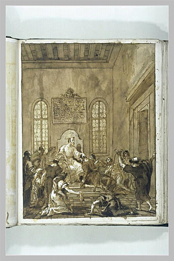 TIEPOLO Domenico : Saint Pierre à Rome