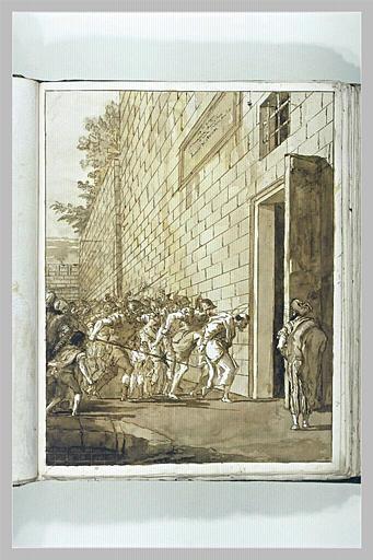 TIEPOLO Domenico : Troisième emprisonnement de saint Pierre