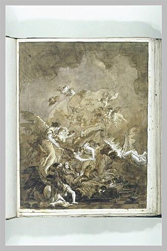 La mort de sainte Anne