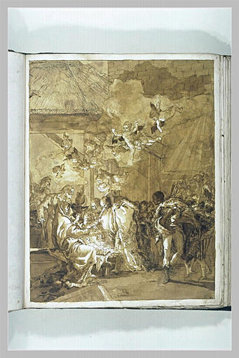 TIEPOLO Domenico : Adoration des Mages
