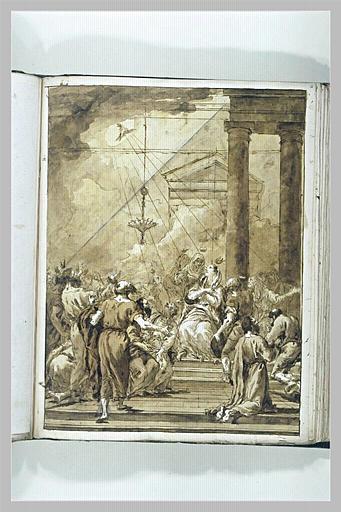 TIEPOLO Domenico : La Pentecôte