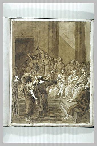 TIEPOLO Domenico : Prédication de saint Paul à l'Aréopage d'Athènes