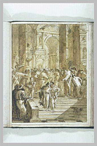 Prédication du Christ dans le Temple