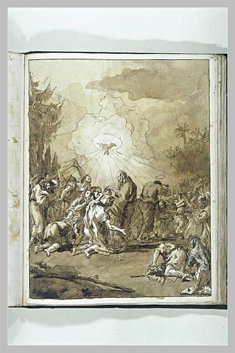 Saint Pierre et saint Jean baptisant