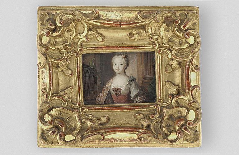 Portrait de Mlle de Ruffec, enfant, plus tard duchesse de Valentinois_0