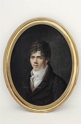 MUNERET Jean Désiré : Autoportrait