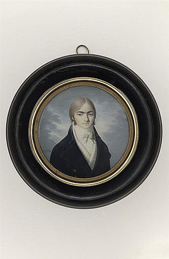 INGRES Jean Auguste Dominique : Portrait de Monsieur Ansars, professeur de dessin à Montauban