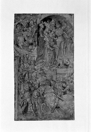 Achille devant sa tente, Hector et Andromaque, Pâris tuant Palamède