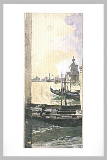 Vue de la lagune à Venise