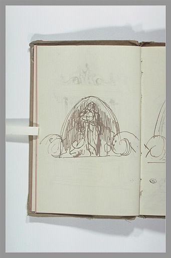 CHAPU Henri Michel Antoine : Projet pour une sculpture