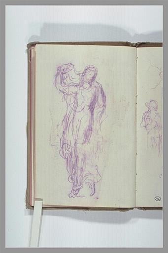 CHAPU Henri Michel Antoine : Etudes de figure