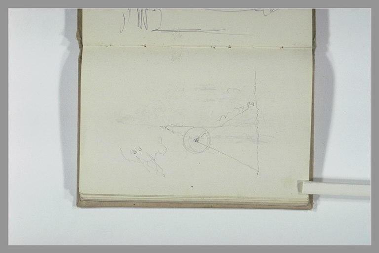 CHAPU Henri Michel Antoine : Croquis géométrique