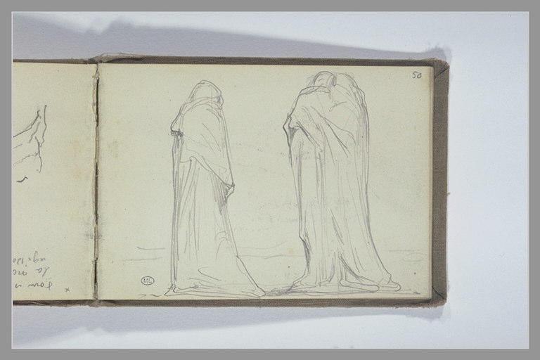 CHAPU Henri Michel Antoine : Deux ou trois pleurants