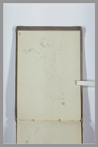 CHAPU Henri Michel Antoine : Figure dansante