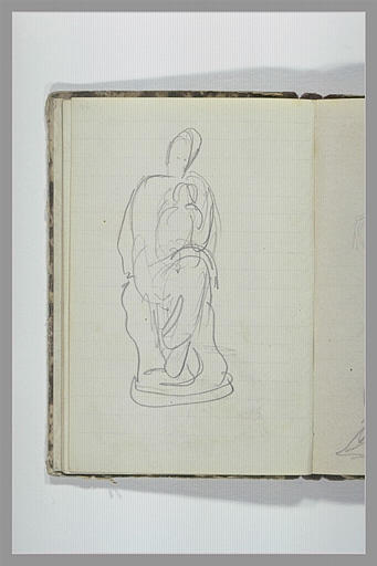 Une figure assise_0