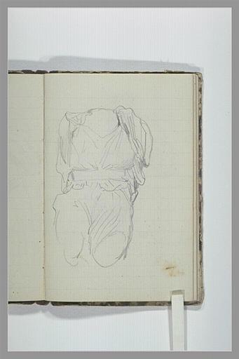 CHAPU Henri Michel Antoine : Corps d'une sculpture antique