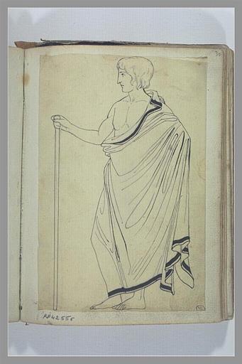 YVON Adolphe : Etude de personnage d'après l'antique
