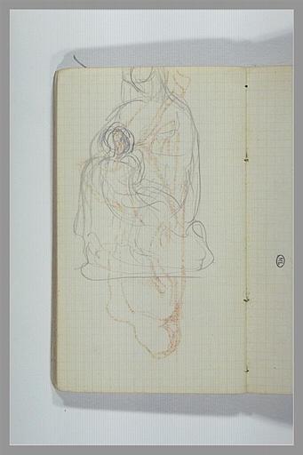 CHAPU Henri Michel Antoine : Vierge à l'Enfant