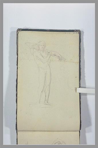CHAPU Henri Michel Antoine : Un licteur portant un faisceau
