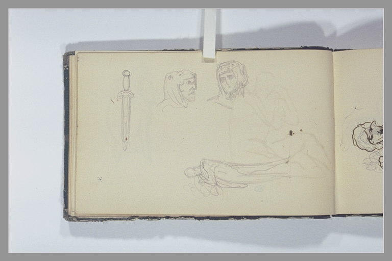 CHAPU Henri Michel Antoine : Epée, légionnaires romains, homme debout