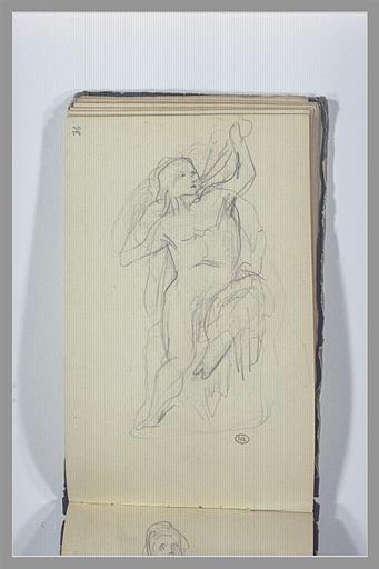 CHAPU Henri Michel Antoine : Un homme assis