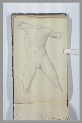 CHAPU Henri Michel Antoine : Corps d'homme sans tête, sans bras, sans pieds