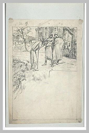 Projet d'illustration pour Macbeth
