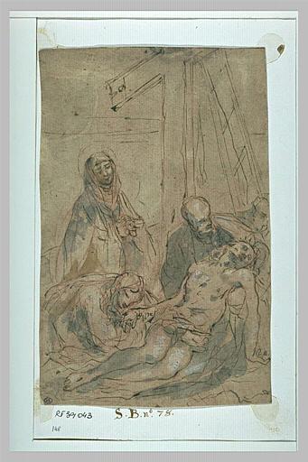Déploration du Christ mort au pied de la Croix