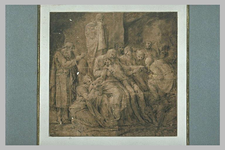 Déploration sur le Christ mort