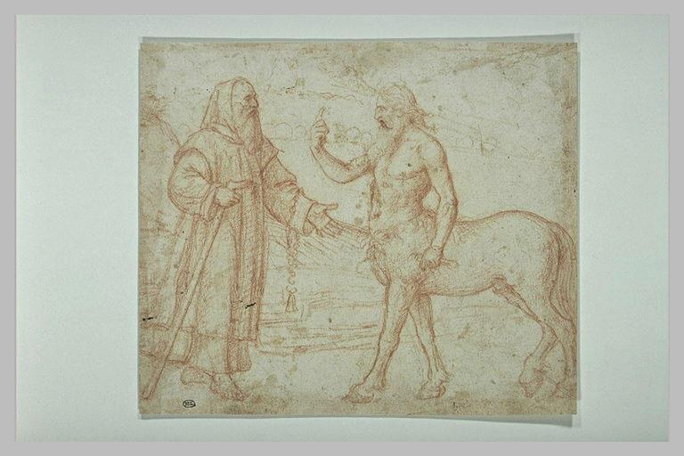 Saint Antoine et le centaure