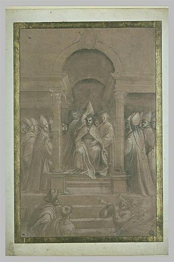 Le sacre d'un évêque