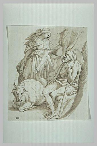 Junon fait garder Io par Argus