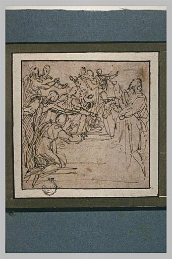 Les Apôtres au tombeau de la Vierge