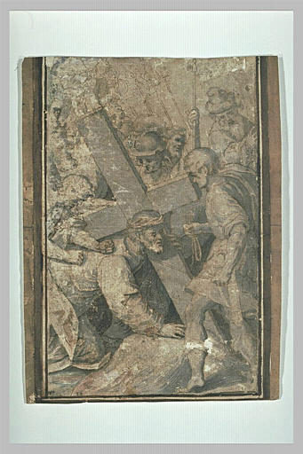 Le Christ succombant sous le poids de la Croix
