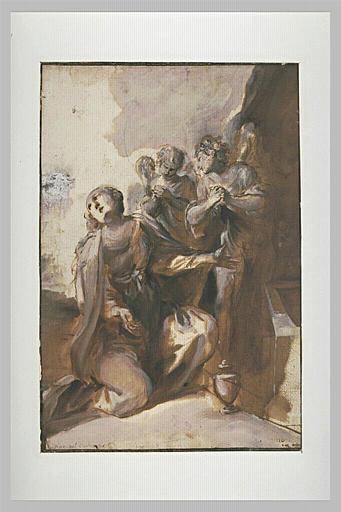 Marie Madeleine au sépulcre