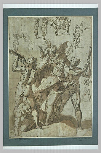 Etude pour une Tentation de saint Antoine