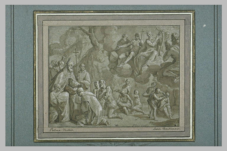 Hugon intronisant Saint Bruno