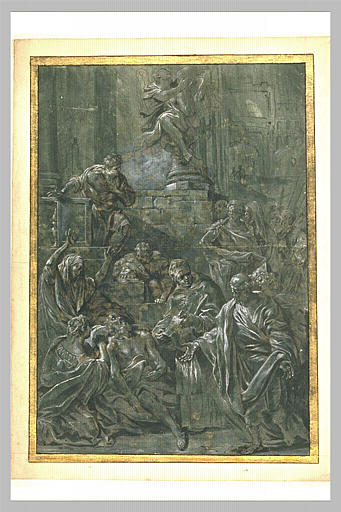 La mort de Saint Alexis