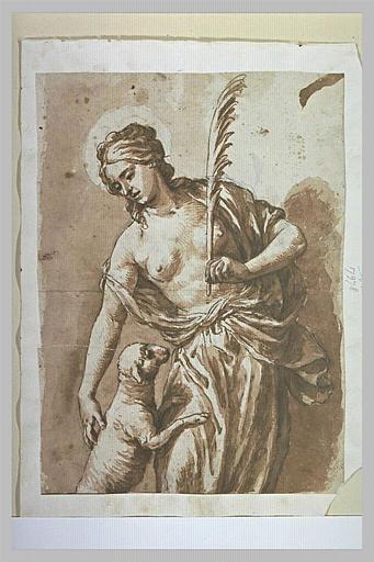 Sainte Agnès avec l'Agneau_0