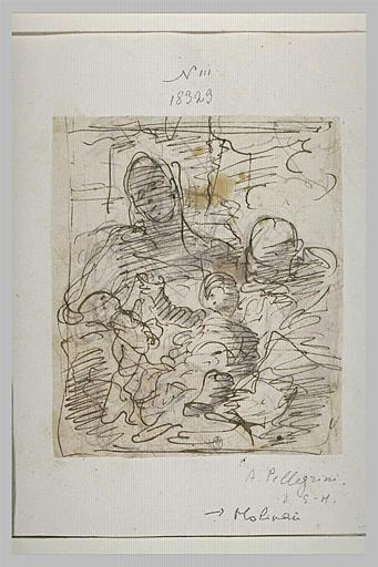 Sainte Famille avec le petit saint Jean