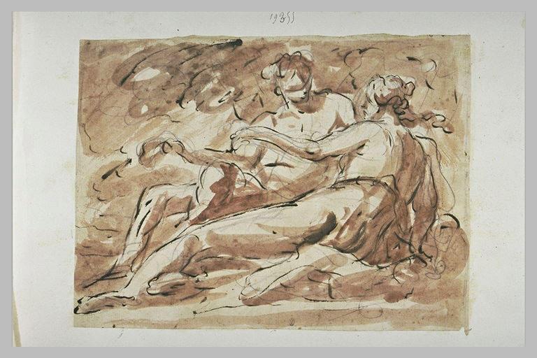 Vénus et Adonis (?)