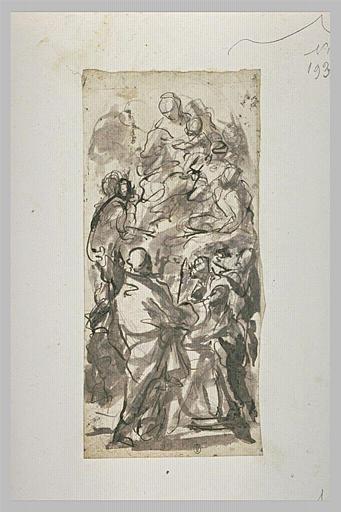 Vierge à l'Enfant avec plusieurs saints