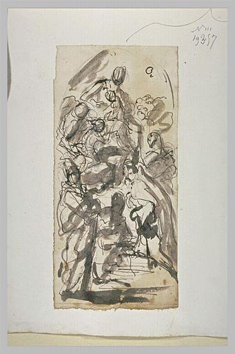 Vierge à l'Enfant entourée de saints