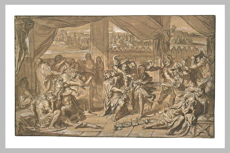 Mort d'un guerrier romain