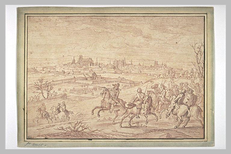 LECLERC Sébastien I : Les campagnes de Louis XIV