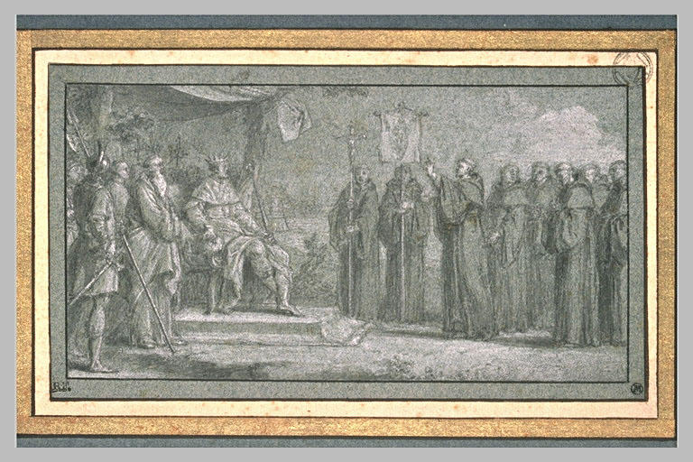 LECLERC Sebastien II : L'arrivée de Saint Augustin en Angleterre