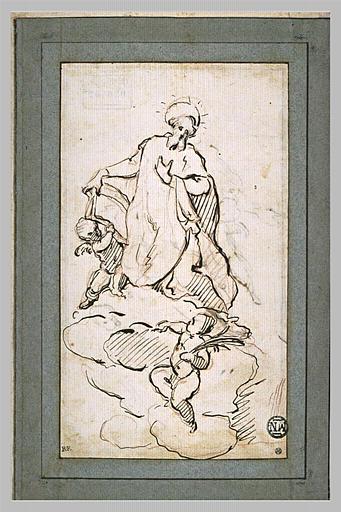 LEGROS Pierre le Jeune : Apothéose de saint Philippe de Néri