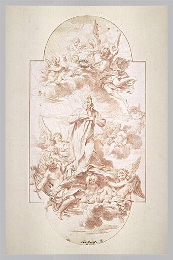 Apothéose de Saint Louis de Gonzague