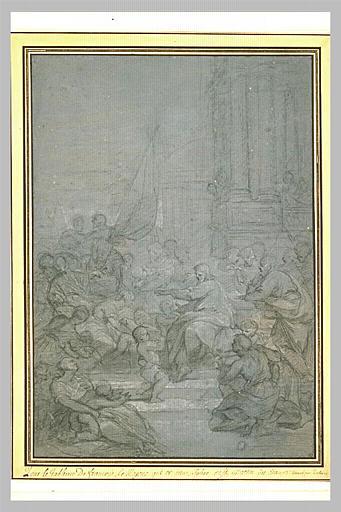 LEMOYNE François : Le Christ laissant venir à lui les petits enfants