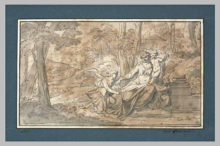Vierge à l'Enfant avec le petit saint Jean, servie par un ange